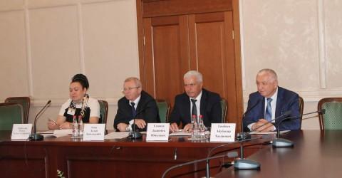 Состоялось совещание трехсторонней комиссии по регулированию социально-трудовых отношений