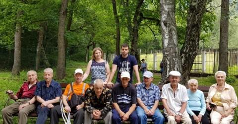 Экскурсия жильцов дома-интерната в биосферный заповедник