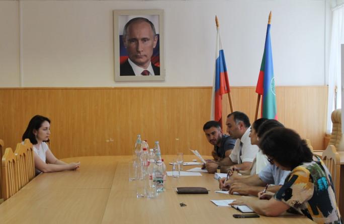 Министр провел выездной прием граждан в Адыге-Хабльском муниципальном районе