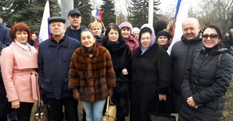 "Митинг-концерт ""Россия в моем сердце"""