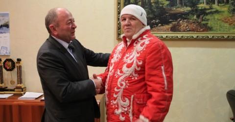 Нашу республку посетил официальный посланник Деда Мороза