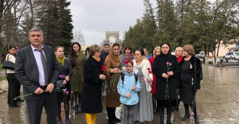 Памяти жертв трагедии в Кемерово
