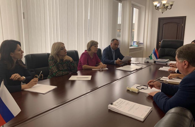 Министр труда Анзор Охтов с рабочим визитом посетил Кабардино-Балкарскую Республику