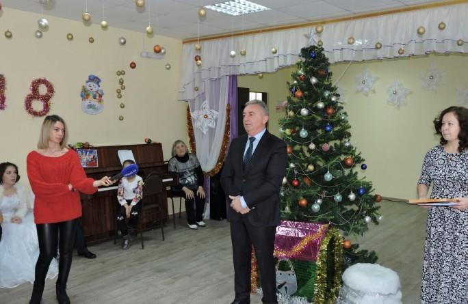 Новогоднее мероприятие в «Заботе»