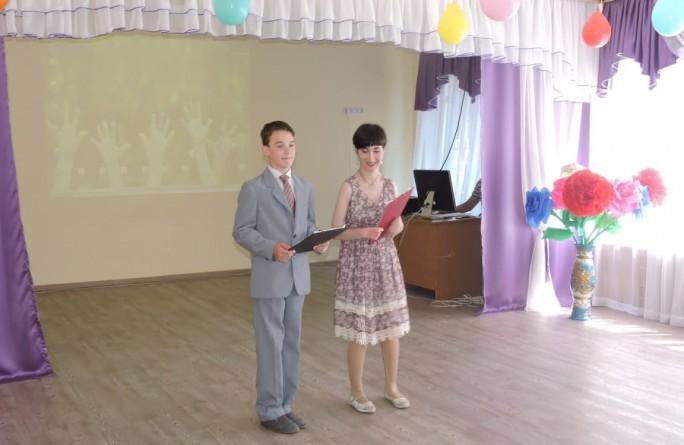 """Прощальный выпускной в доме-интернате """"Забота"""""""""""