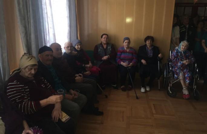 В преддверии Нового года в РГБУ «Дом-интернат общего типа для престарелых и инвалидов» прошло праздничное мероприятие