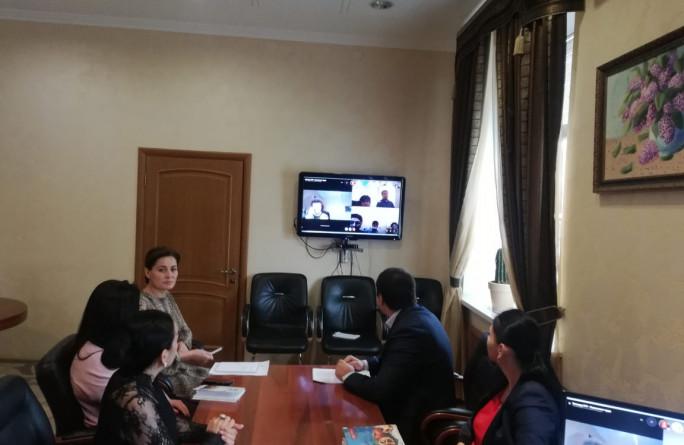 Видеосовещание с руководителями управлений труда