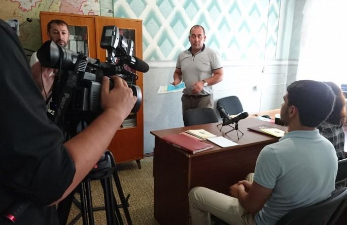 Выездной прием граждан по правовому просвещению и информированию населения