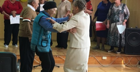 Празднование 25-летия КЧР в доме-интернате для престарелых