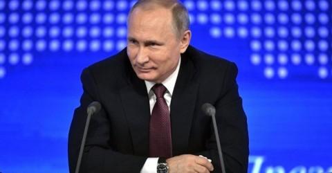 Пресс-конференция Президента РФ В.В. Путина