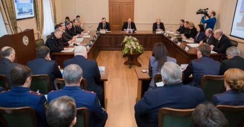 Рашид Темрезов провел совместное заседание Координационного совещания по обеспечению правопорядка и Антинаркотической комиссии