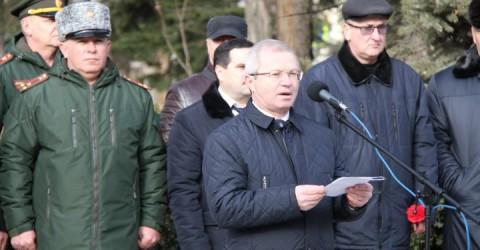 В Карачаево-Черкесии состоялось торжественное собрание, посвященное 29-й годовщине вывода войск из Афганистана