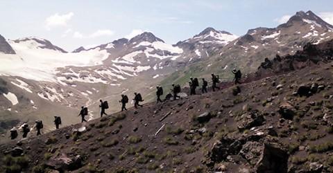 В Карачаево-Черкесии стартовала патриотическая молодежная добровольческая экспедиция «Оборонная тропа»