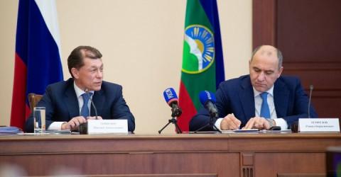 В Карачаево-Черкесию с официальным визитом прибыл Министр труда и социальной защиты России Максим Топилин