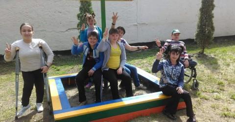 Воспитанникам детского дома-интерната «Забота» преподнесли подарок